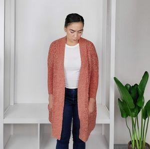 Lucky Brand Knit Duster Cardigan Medium